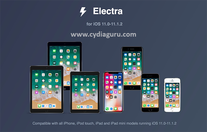 Download Electra Jailbreak for iOS 11 Jailbreak
