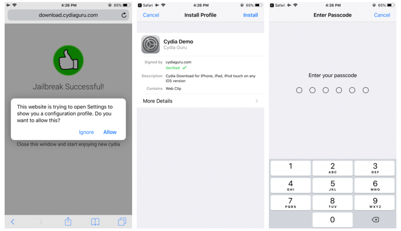 Cydia Download for iOS 12, 11, 10 & iOS 9 without Jailbreaking iDevice